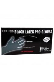 Rokavice latex črne velikost L