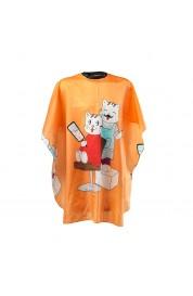 Otroško ogrinjalo oranžna mačka