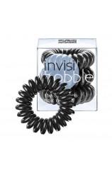 Spiralna  gumica za lase - Invisibobble črna