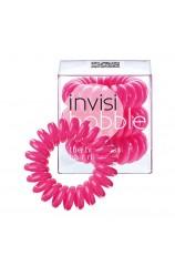 Spiralna  gumica za lase - Invisibobble roza